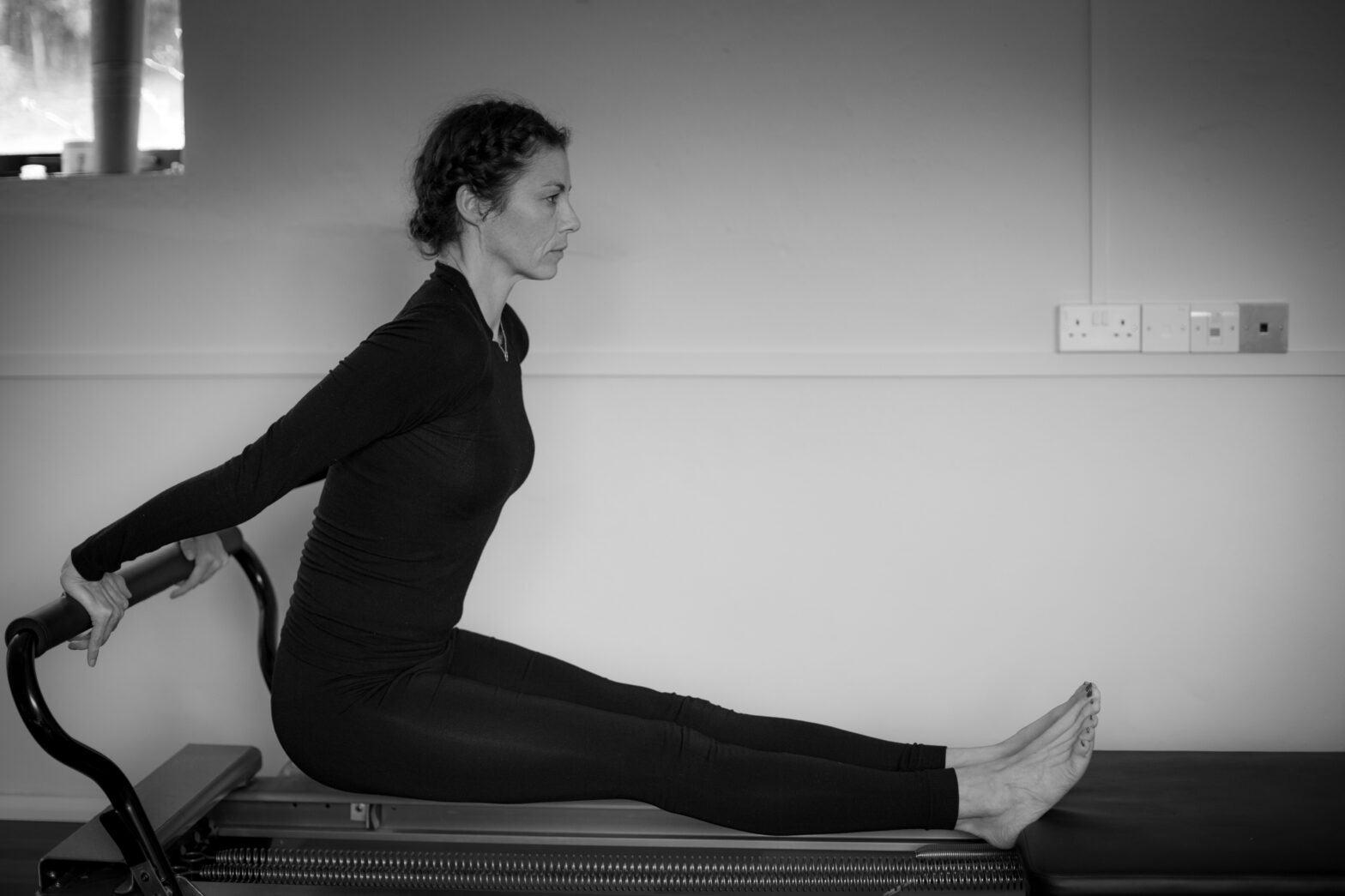 Workout on the reformer